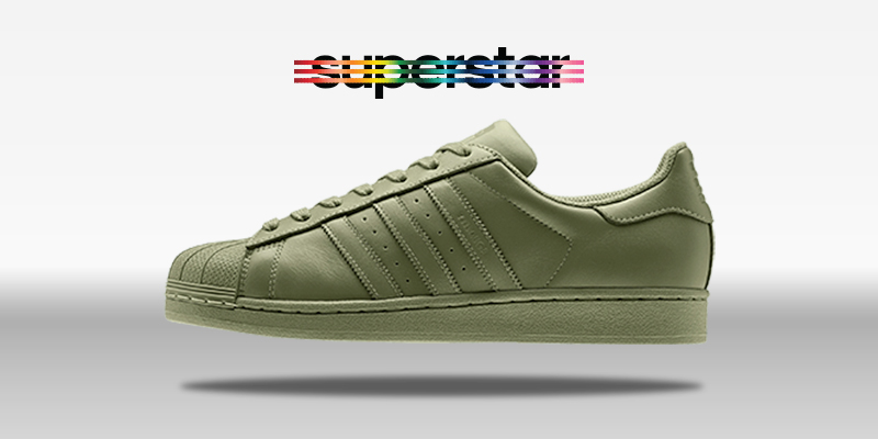 Adidas Superstar Supercolor Shift Olive
