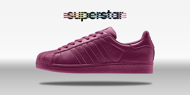 Adidas Superstar Supercolor Solid Magenta