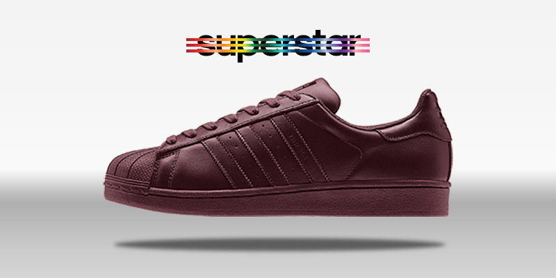 Adidas Superstar Supercolor Solid Red