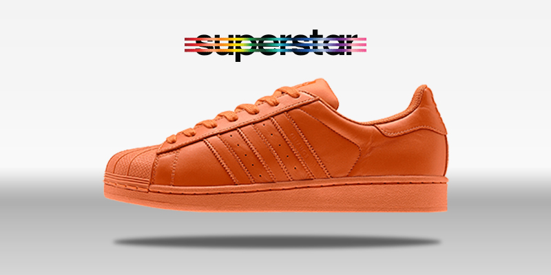 Adidas Superstar Supercolor St Nomad Orange
