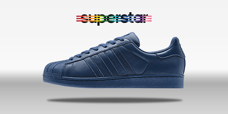 Adidas Superstar Supercolor Uniform Blue