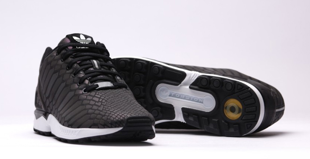 Adidas ZX Flux XENO Black Cool Sneakers