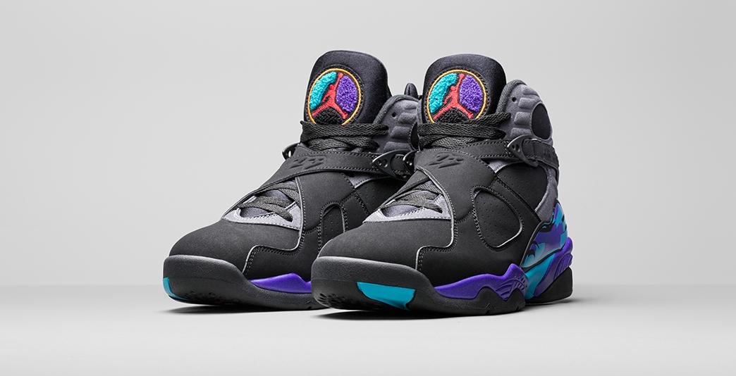 Nike Air Jordan 8 Aqua
