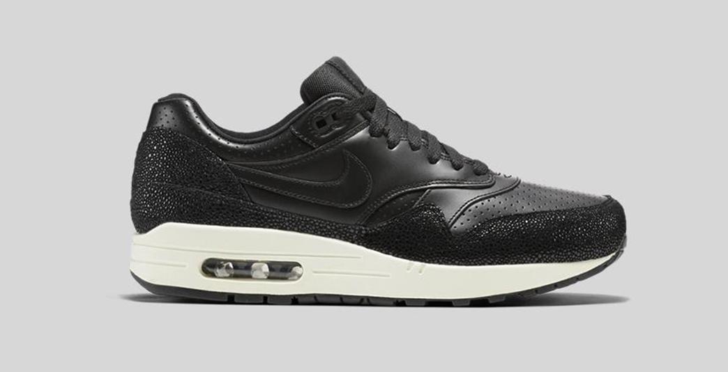 Nike Air Max 1 Leather Premium Black