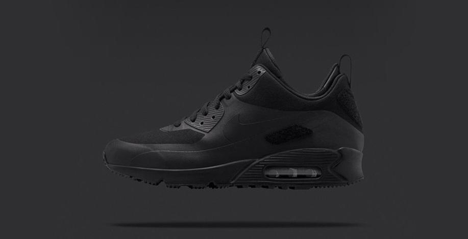 Nike Air Max 90 Sneakerboot Patch Black