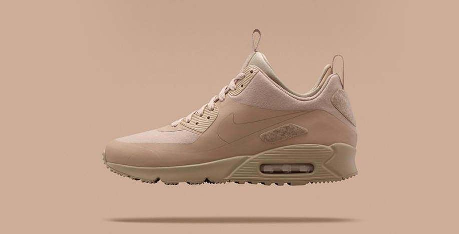 Nike Air Max 90 Sneakerboot Patch Sand