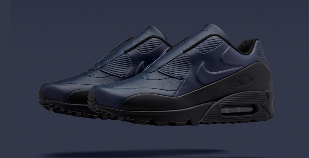Nike Air Max 90 x Sacai Obsidian Black