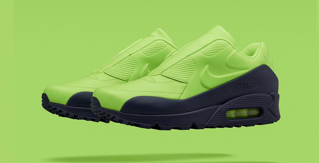 Nike Air Max 90 x Sacai Volt Obsidian