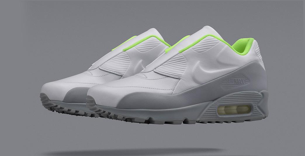 Nike Air Max 90 x Sacai Wolf Grey Volt