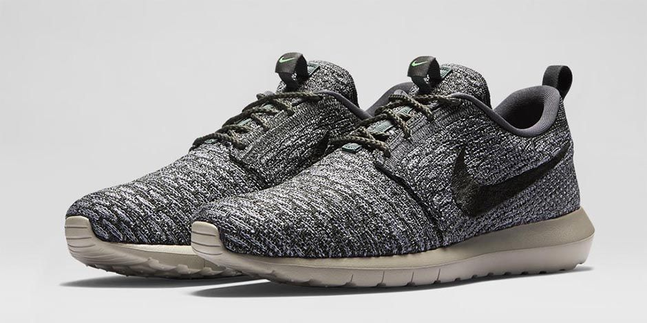 competitive price 21a40 ff8a6 Nike Roshe Run Flyknit Wolf Grey