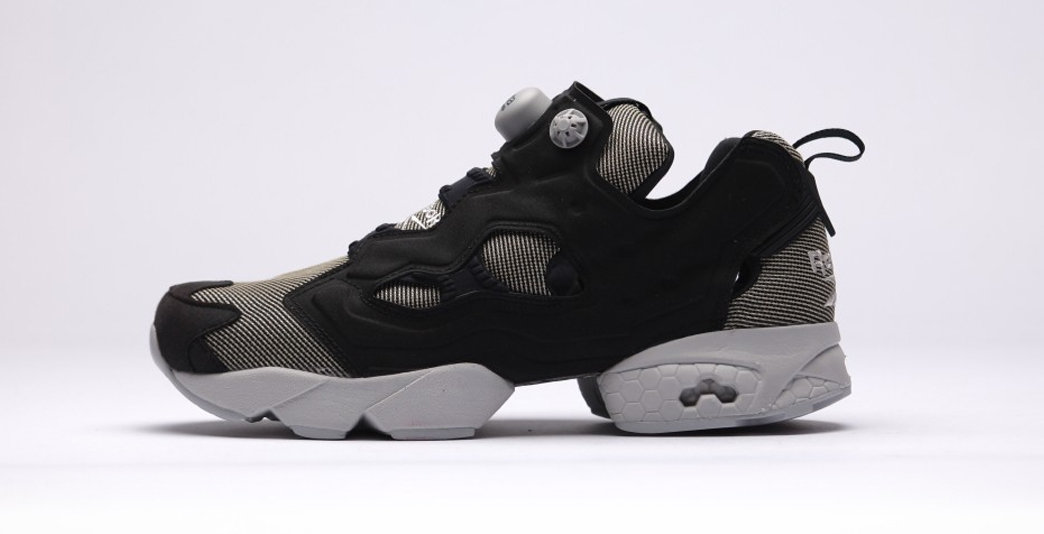 reebok insta pump fury black steel