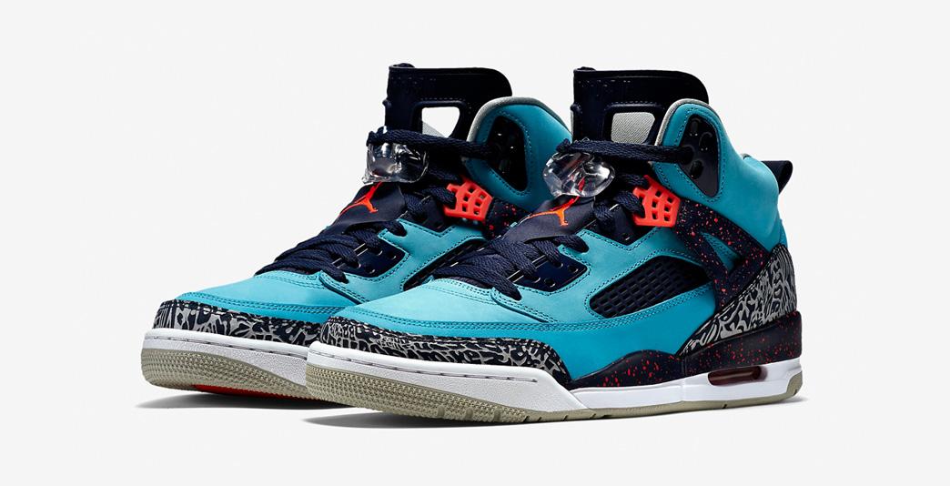 Nike Air Jordan Spizike Turquoise Blue
