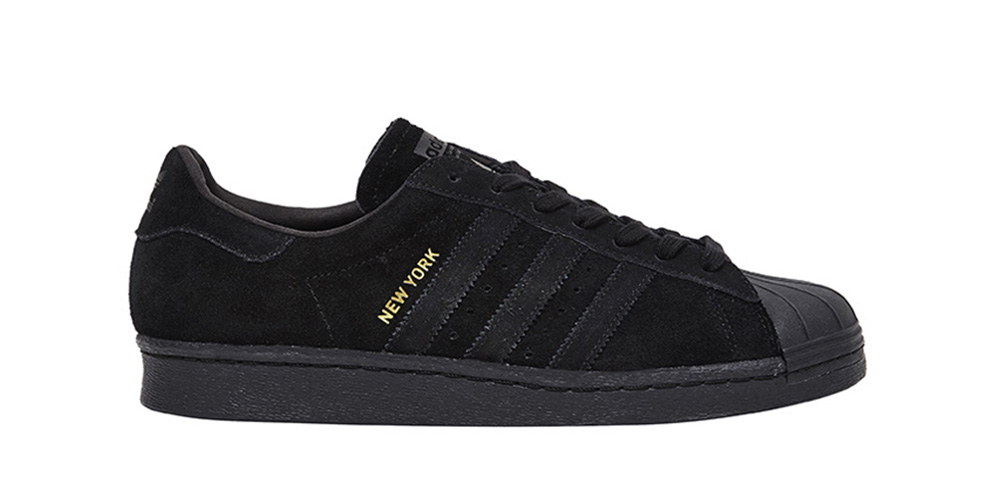 Man Adidas Superstar 80s City Series New York Sports Shoes