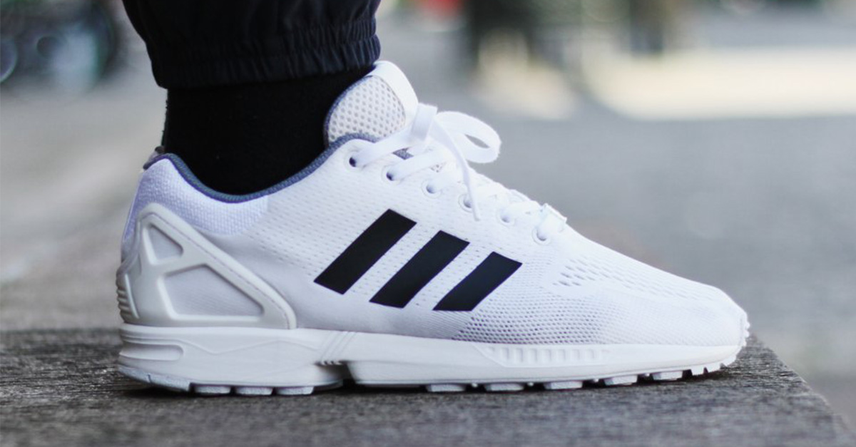 Adidas ZX Flux White Black