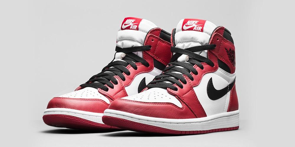 Nike Air Jordan 1 Retro High Varsity Red