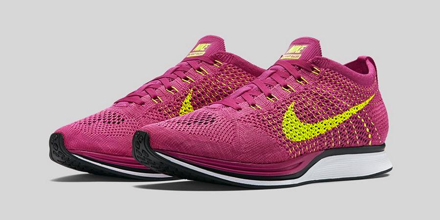 Nike Flyknit Racer Fireberry