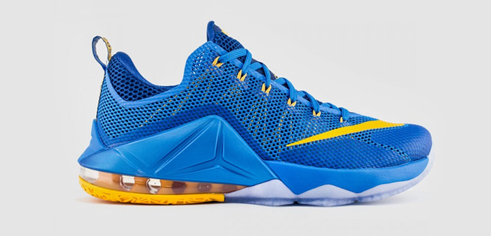 Nike Lebron 12 Low Photo Blue