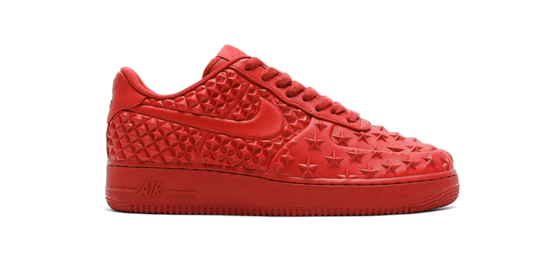 Nike Air Force 1 VT Red Cool Sneakers