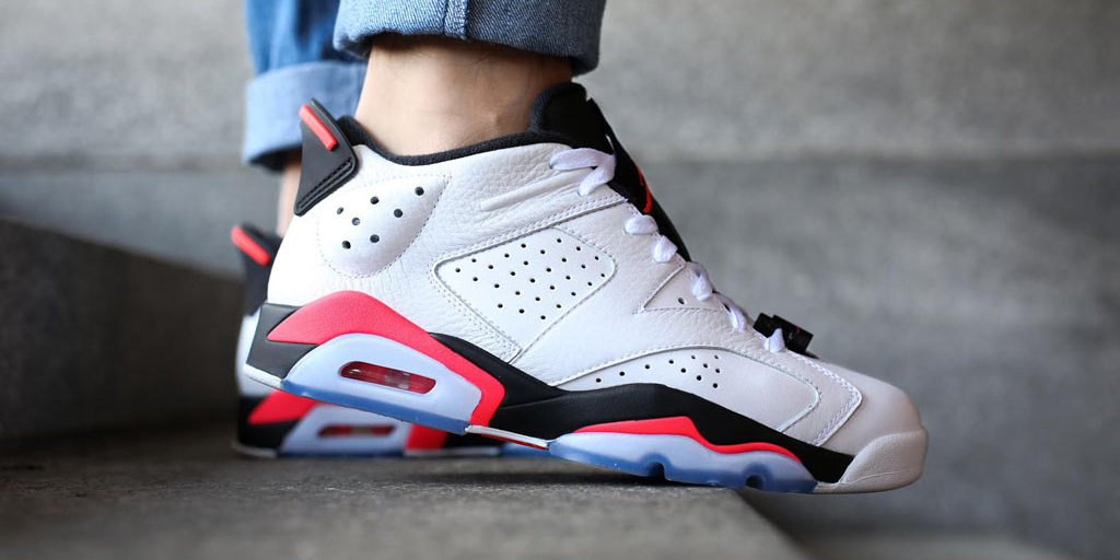Nike Air Jordan 6 Low Infrared