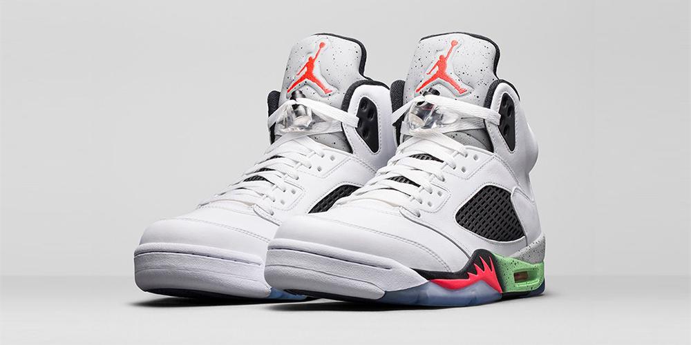 Nike Air Jordan 5 Retro Poison Green