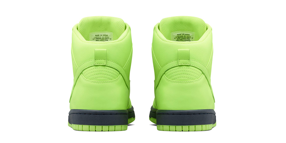NikeLab x Sacai Dunk Lux 'Volt'