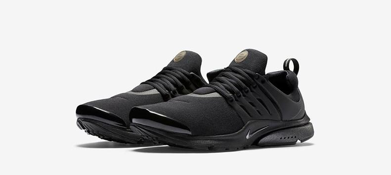 Nike Air Presto Tech Fleece Black