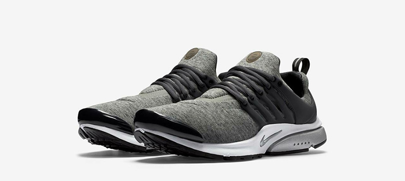 Nike Air Presto Tech Fleece Grey
