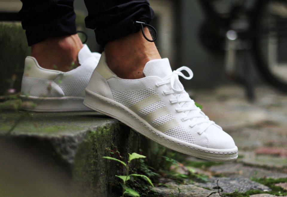 Adidas Campus Primeknit White