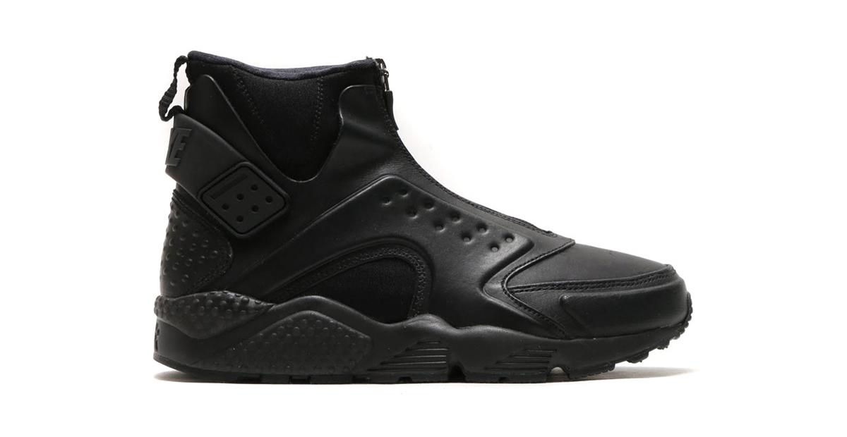 Nike Air Huarache Run Mid Black