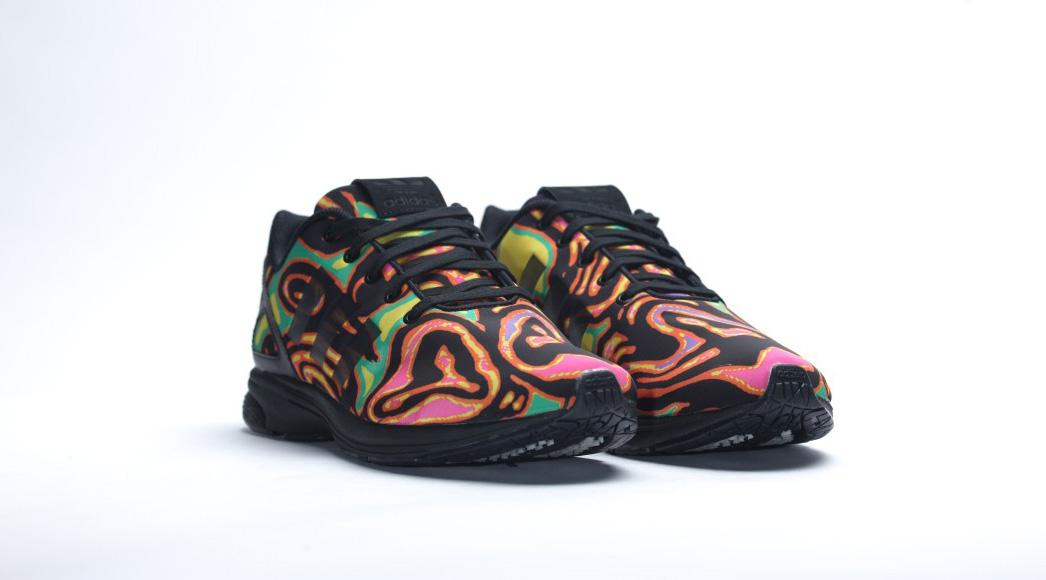541c3c91a053 Adidas ZX Flux Tech x Jeremy Scott - Cool Sneakers