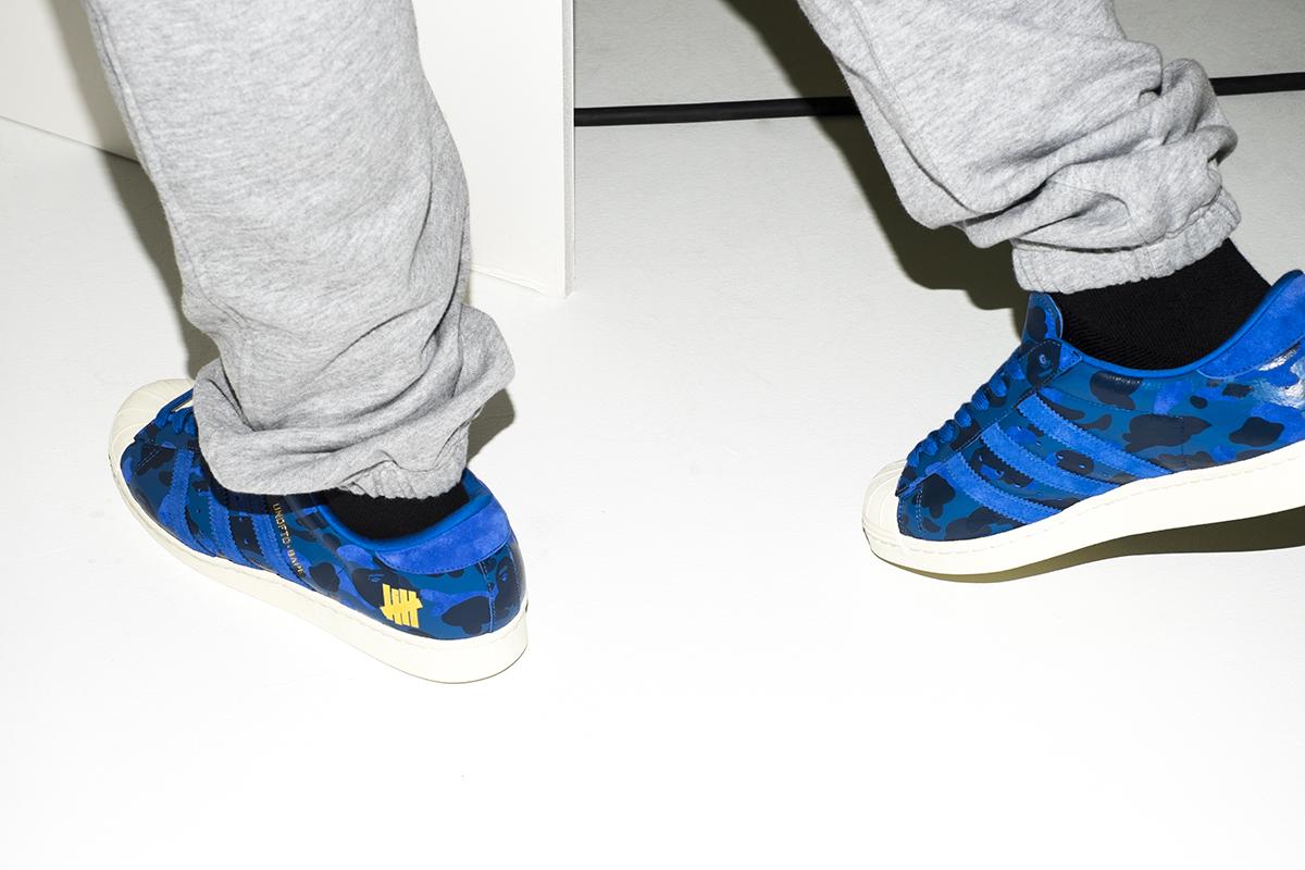 Bape x Adidas Superstars