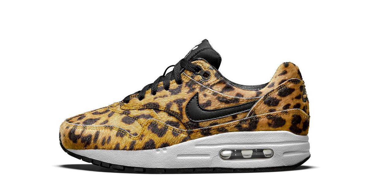 Nike AIr Max 1 Zoo Pack Jaguar Print