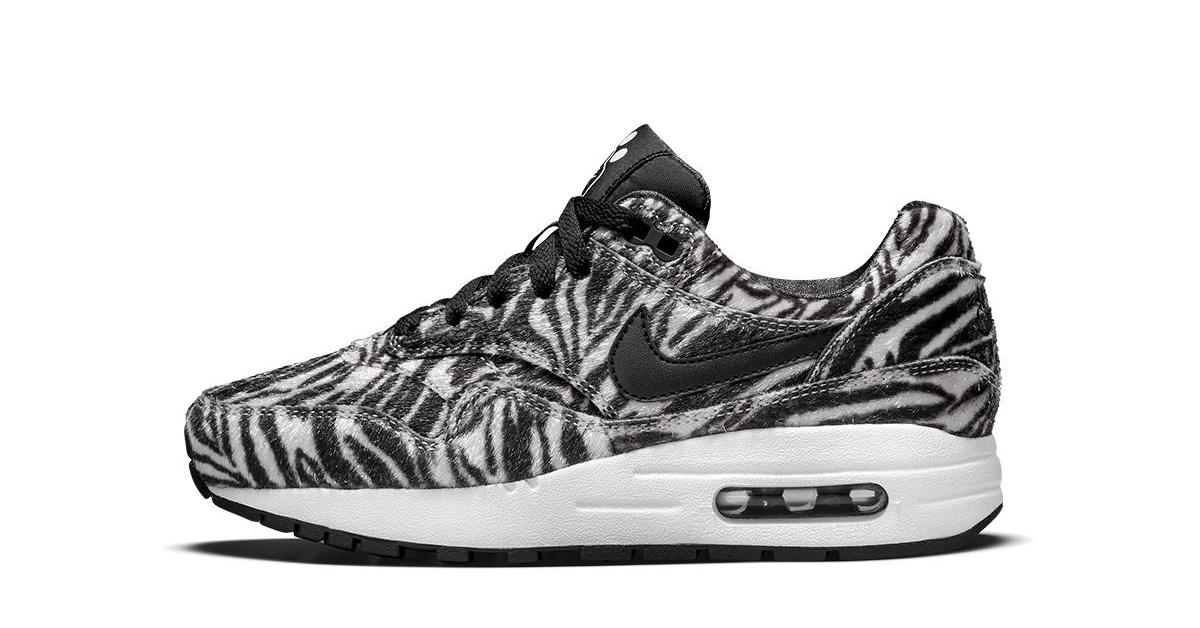 Zoo Cool 1 Print Air Pack Sneakers Nike Max Zebra TF1clKJ