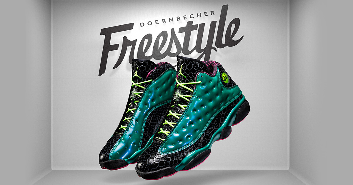 Nike Air Jordan 13 Doernbecher 2015