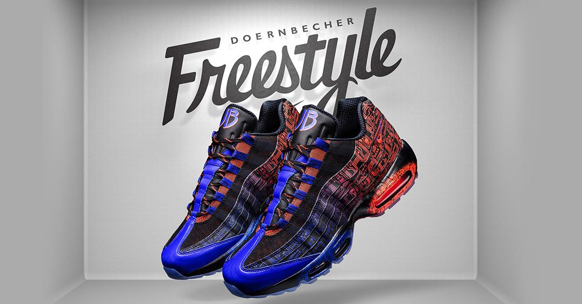 Air Max 95 Premium 'Doernbecher Freestyle' Release Date