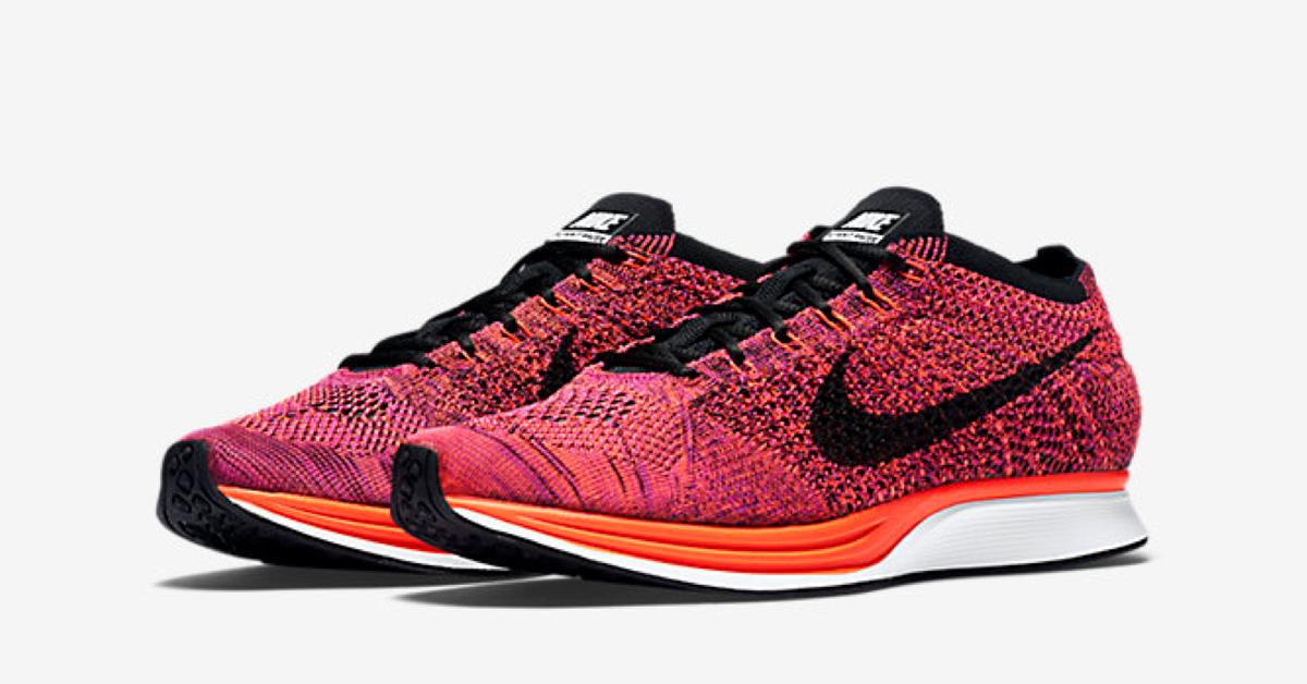 Nike Flyknit Racer Acai Berry