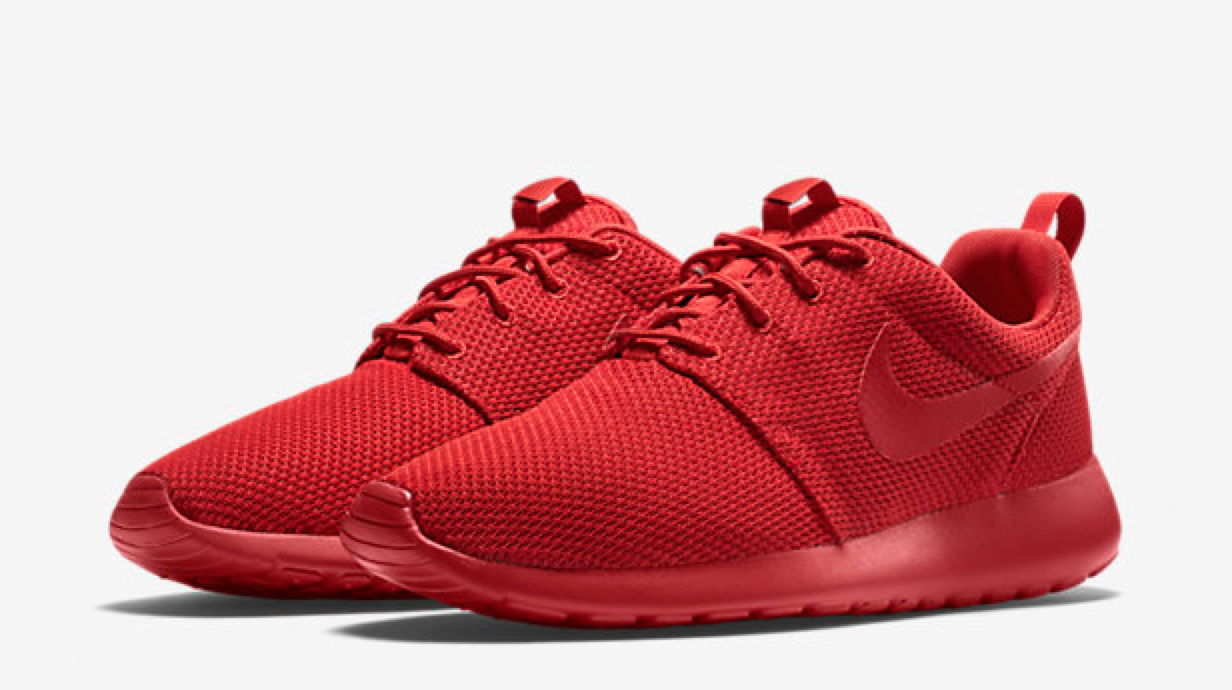 All Red Nike Sneakers! Cool Sneakers