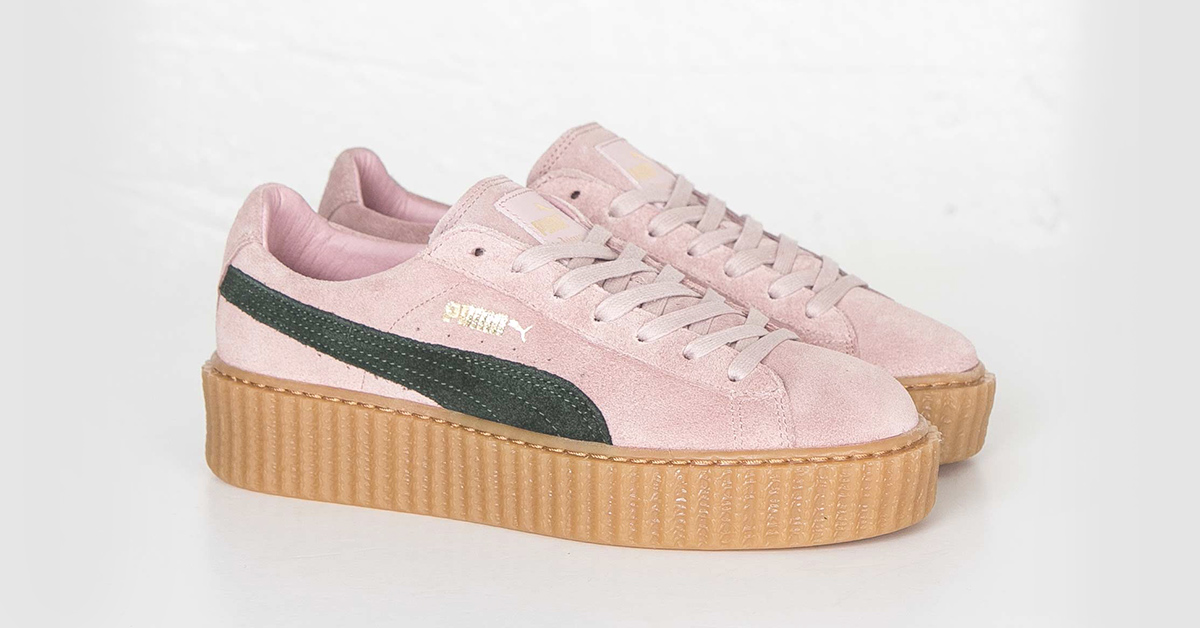 puma suede creepers pink cool sneakers. Black Bedroom Furniture Sets. Home Design Ideas