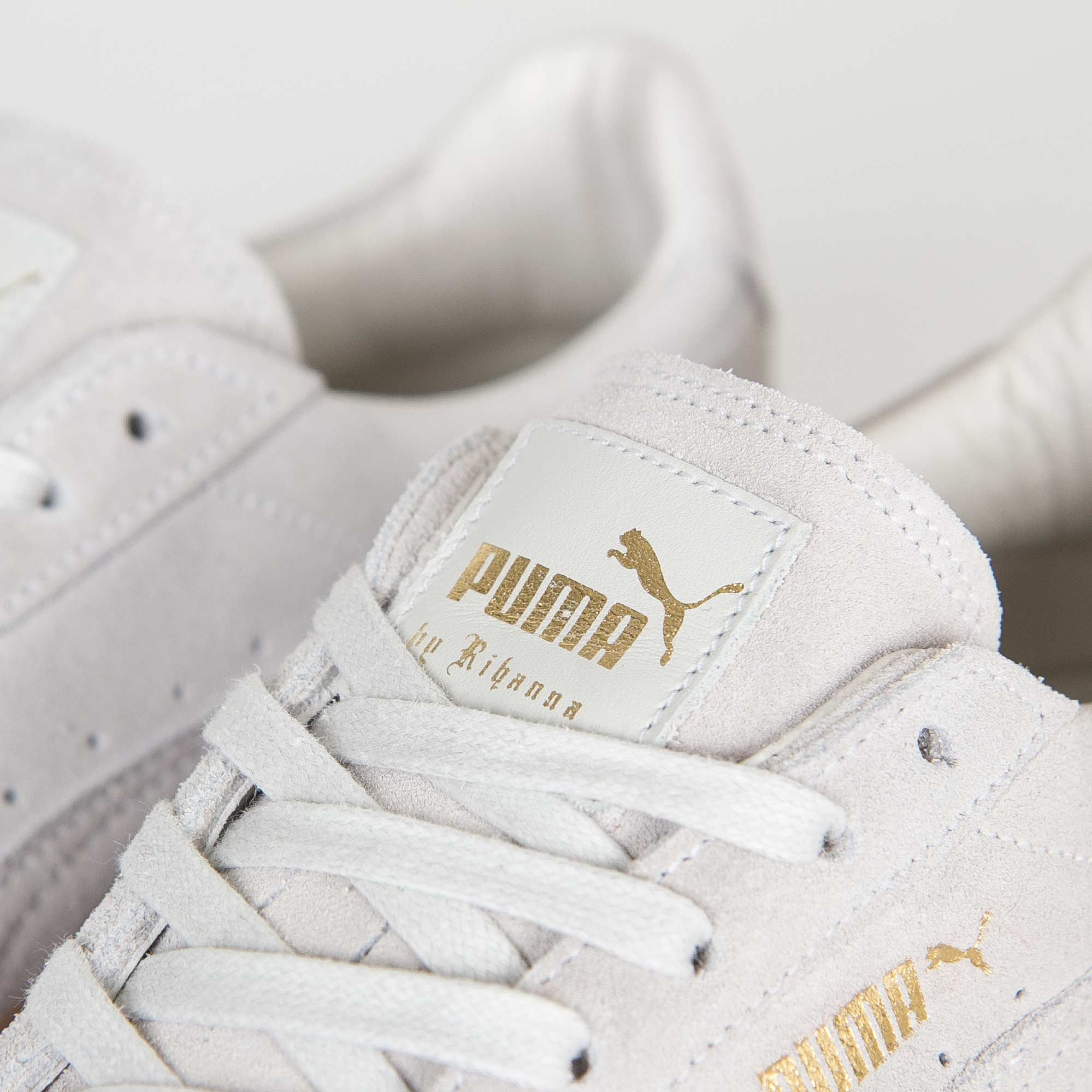 Puma Suede Creepers White