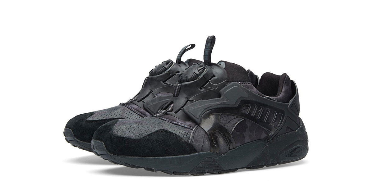 BAPE x Puma Disc Blaze Forged Iron