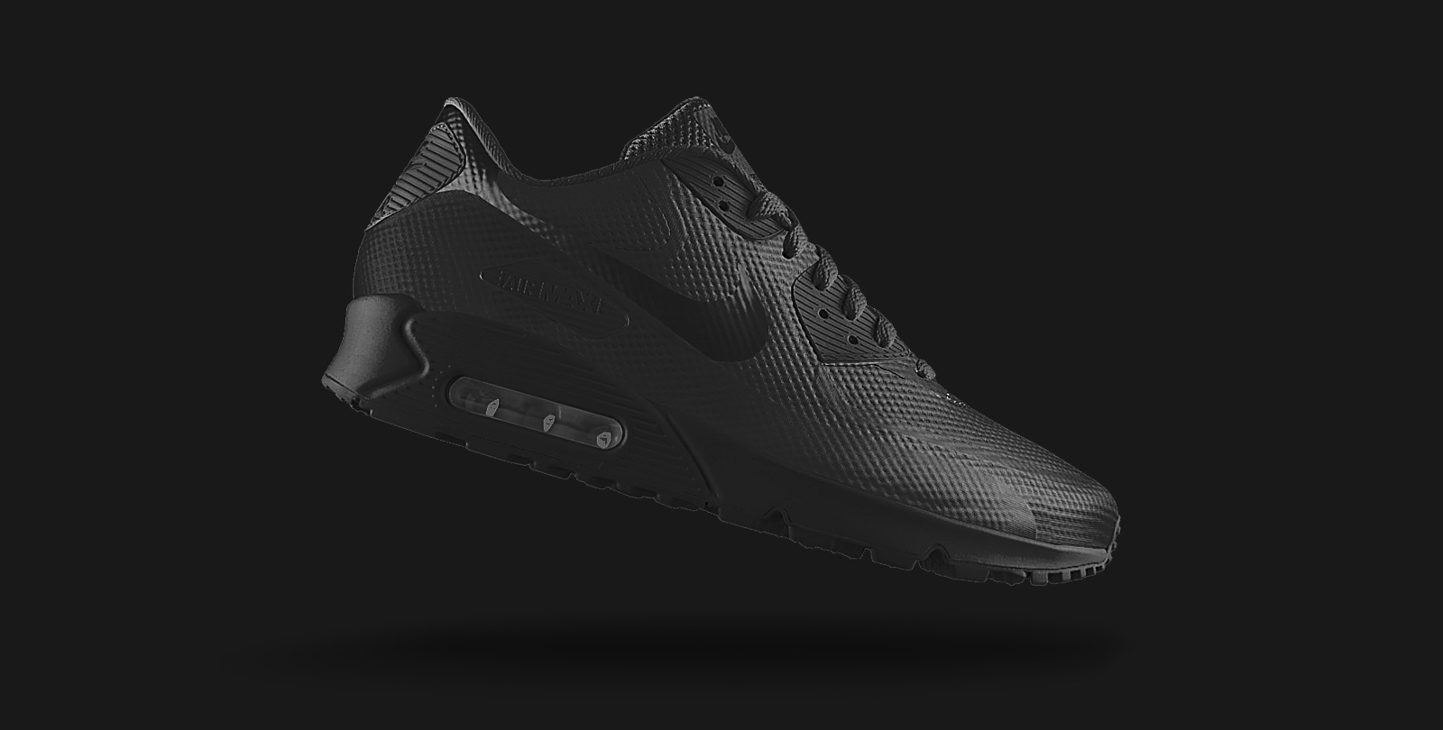 Nike Air Max 90 Hyperfuse iD Black
