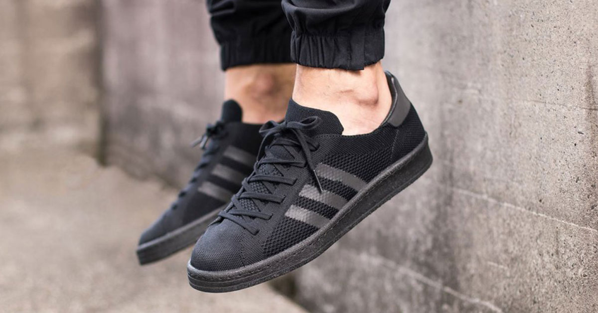 Adidas campus 80s primeknit black
