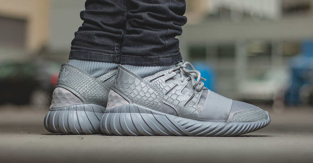 Adidas Tubular Doom Metallic Silver