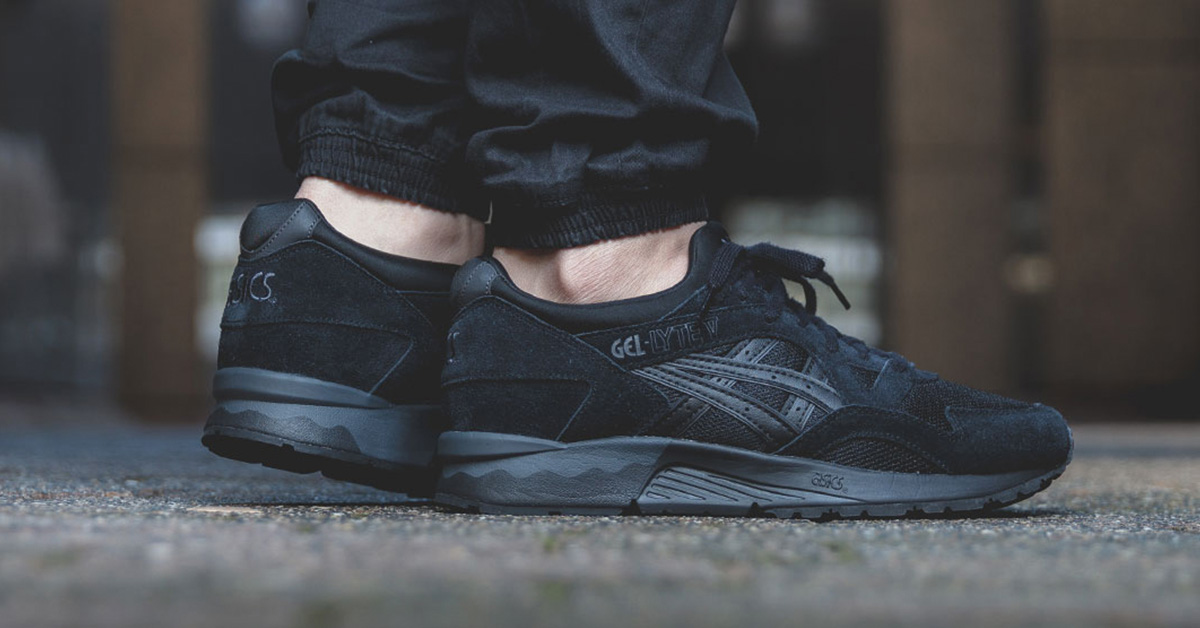 Asics Gel Lyte V Lights Out Pack Black