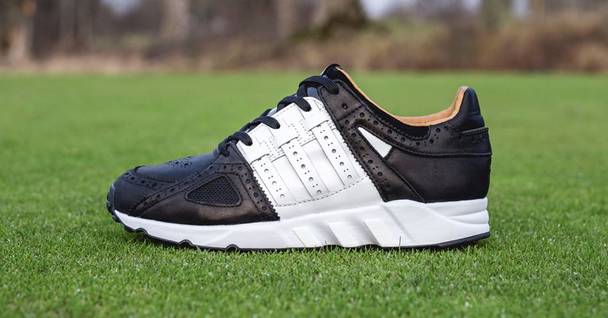 Sneakersnstuff x Adidas EQT 93 Tee Time Pack