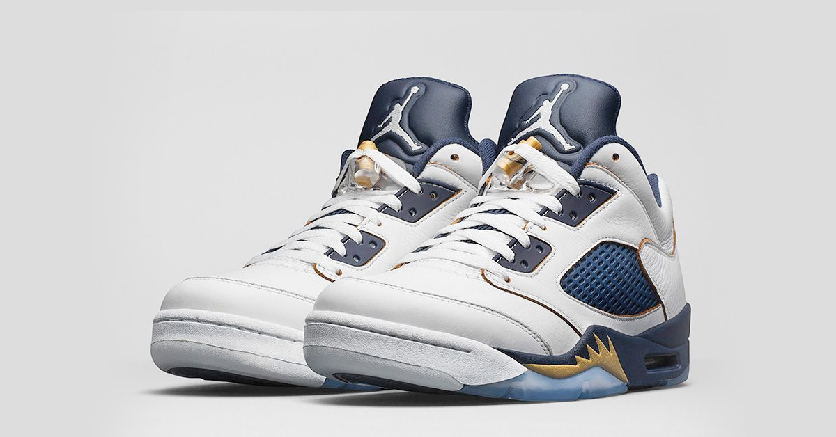 Nike Air Jordan 5 Retro Low Dunk from Above