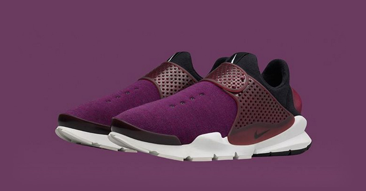 NikeLab Sock Dart Fleece Purple