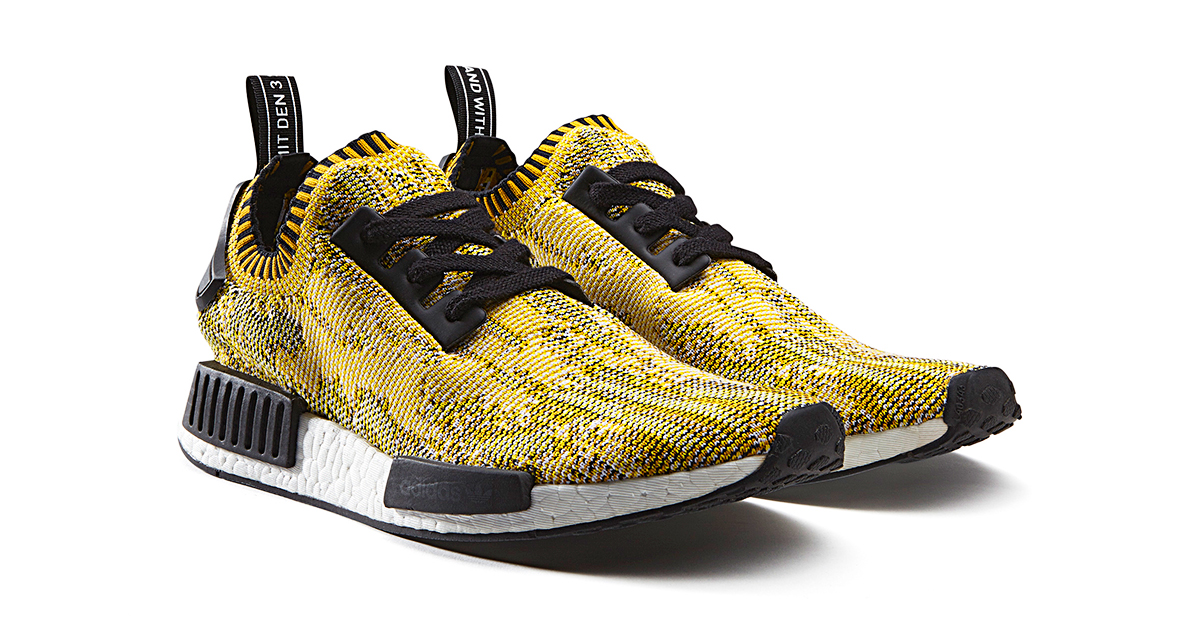 Adidas NMD R1 Yellow Black