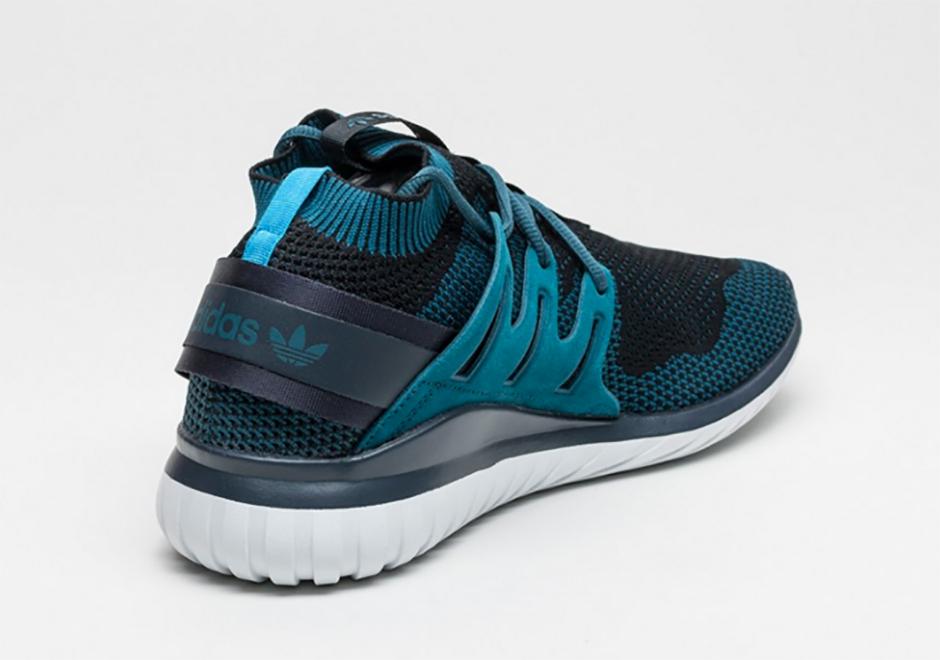 adidas tubular nova primeknit teal cool sneakers. Black Bedroom Furniture Sets. Home Design Ideas