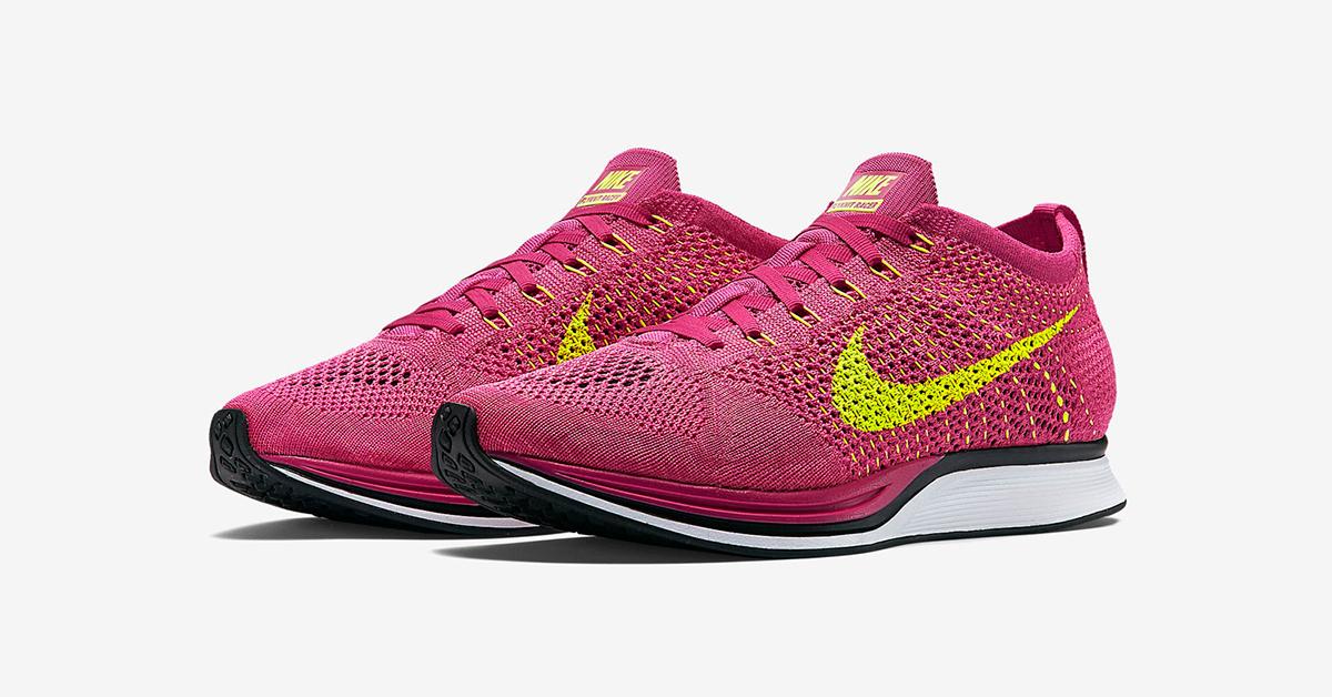 Nike Flyknit Racer Fireberry Restock